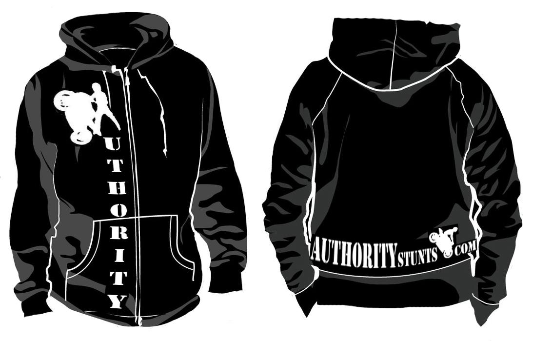 Authority Sweat Shirts! | Authority Stunts